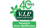 V.I.P. Home Services. Fencing and Home Maintenance franchise uk Logo