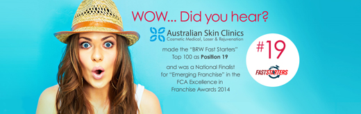 Australian Skin Clinics Banner franchise business management beauty cosmetic